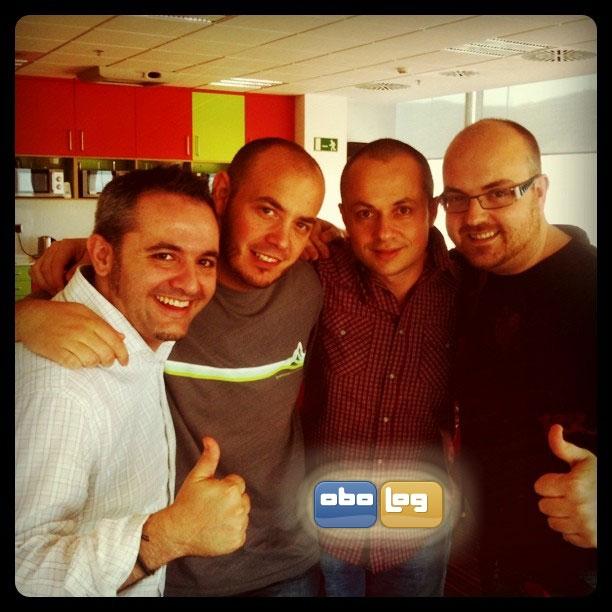 Albert García, Albert Lombarte, Sergi Ambel y Toni Pinel