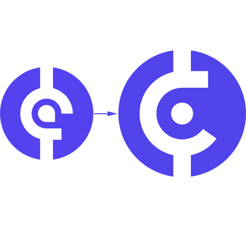 El logotipo final de CryptoAdvisor.Club