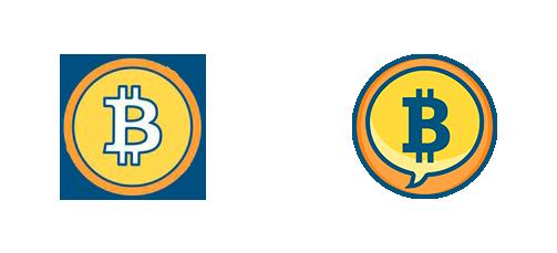 Los primeros intentos de logo, durante la beta